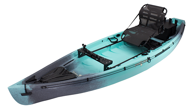 Frontier 12 Essential Angler Cyan Camo