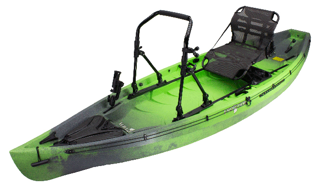 Frontier 12 Stand Up Angler Lime Camo