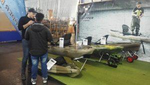 angeln mit kajak messe aqua fisch 1