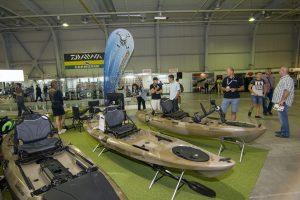 grapper kajak test fishing hunting expo