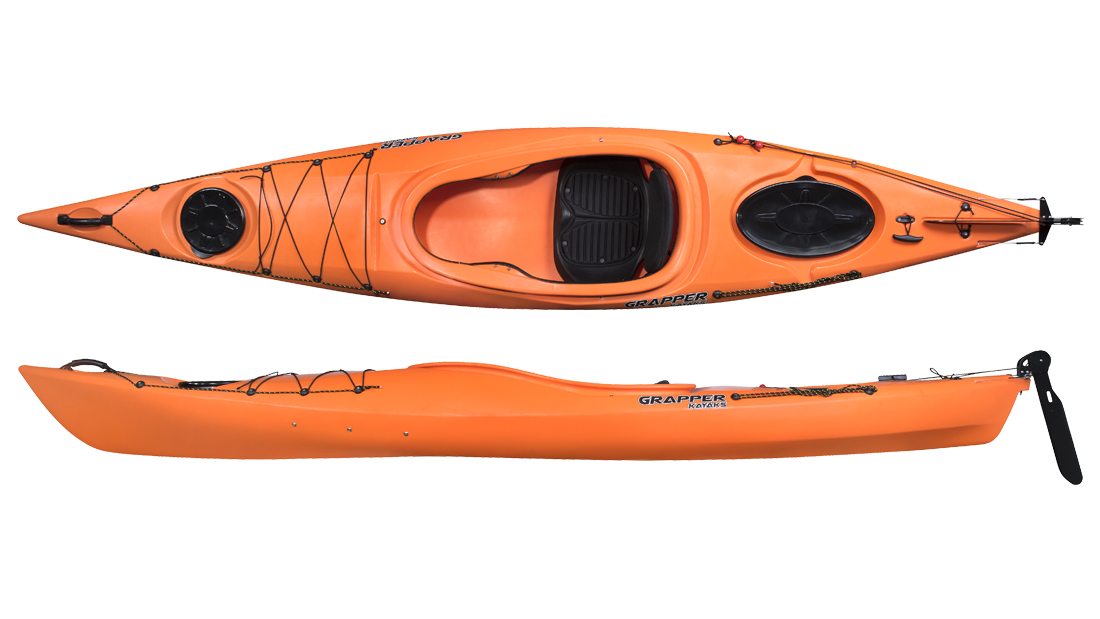 seekajak grapper SITIN 360 Orange