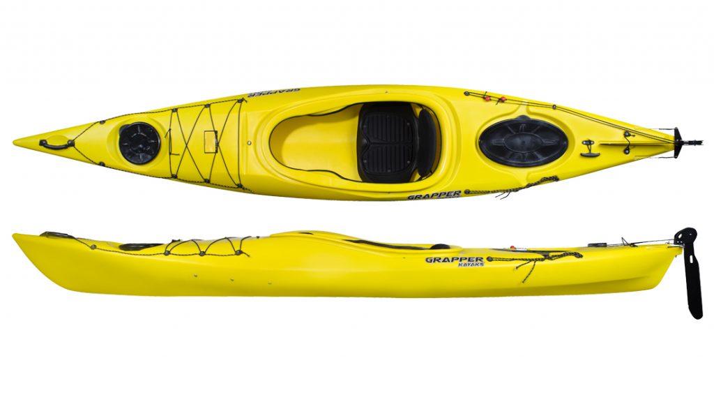 seekajak grapper SITIN 360 Yellow